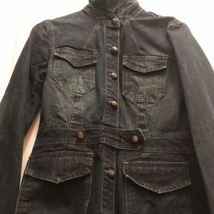 Laundry by Shelli Segal vintage denim jacket